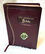 609-19BG - Burgundy Catholic Bible