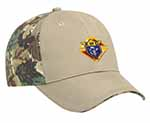 71850 - Camouflage Brushed Cotton Twill Cap