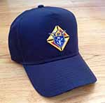 No. 820N - Cotton Cap - Navy