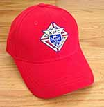 820R - Cotton Cap - Red