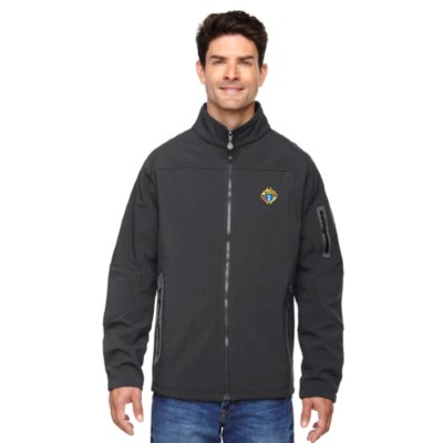 88138GRAPHITE - Men's Three-Layer Fleece Soft Shell Jacket