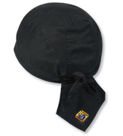 KofC Cotton Poplin Biker Style Head Wrap