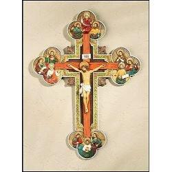 "13"" Twelve Apostles Wall Crucifix"