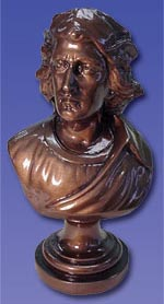 B - Bust of Columbus- 10''