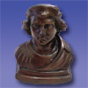 C - Bust of Columbus- 5''