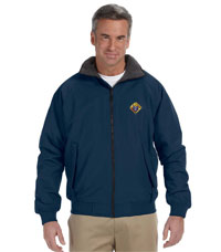 No. D701NAVY - Men's Classic Jacket  (CLEARANCE) Size-XL