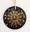 No. GSC100 - The Twelve Apostles Glass Sun Catcher