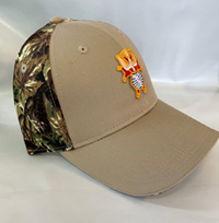 Camouflage Brushed Cotton Twill Cap
