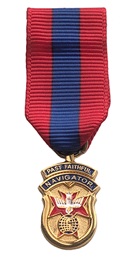 Past Faithful Navigator Miniature Jewel