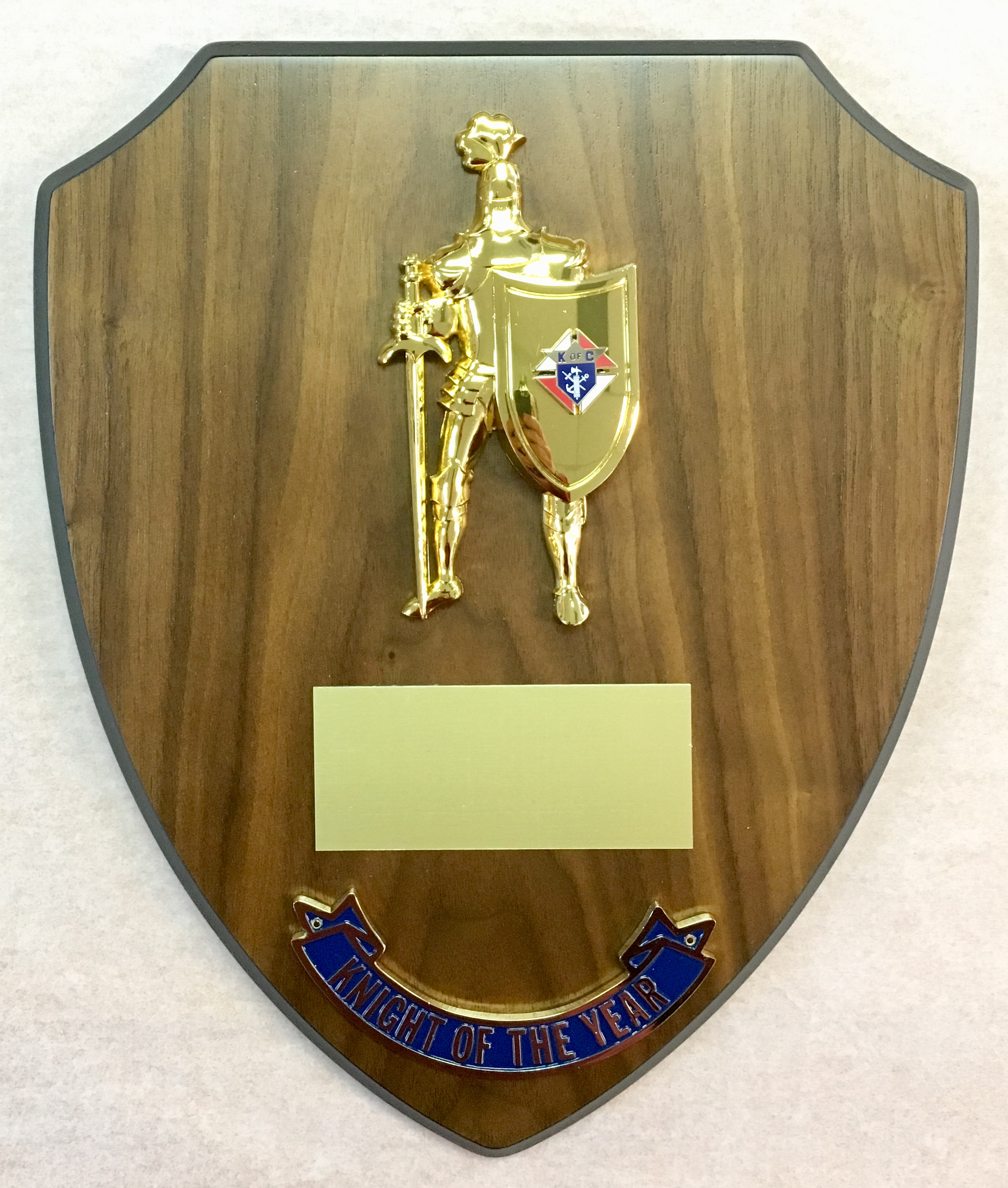 Knight of the Year Plaque