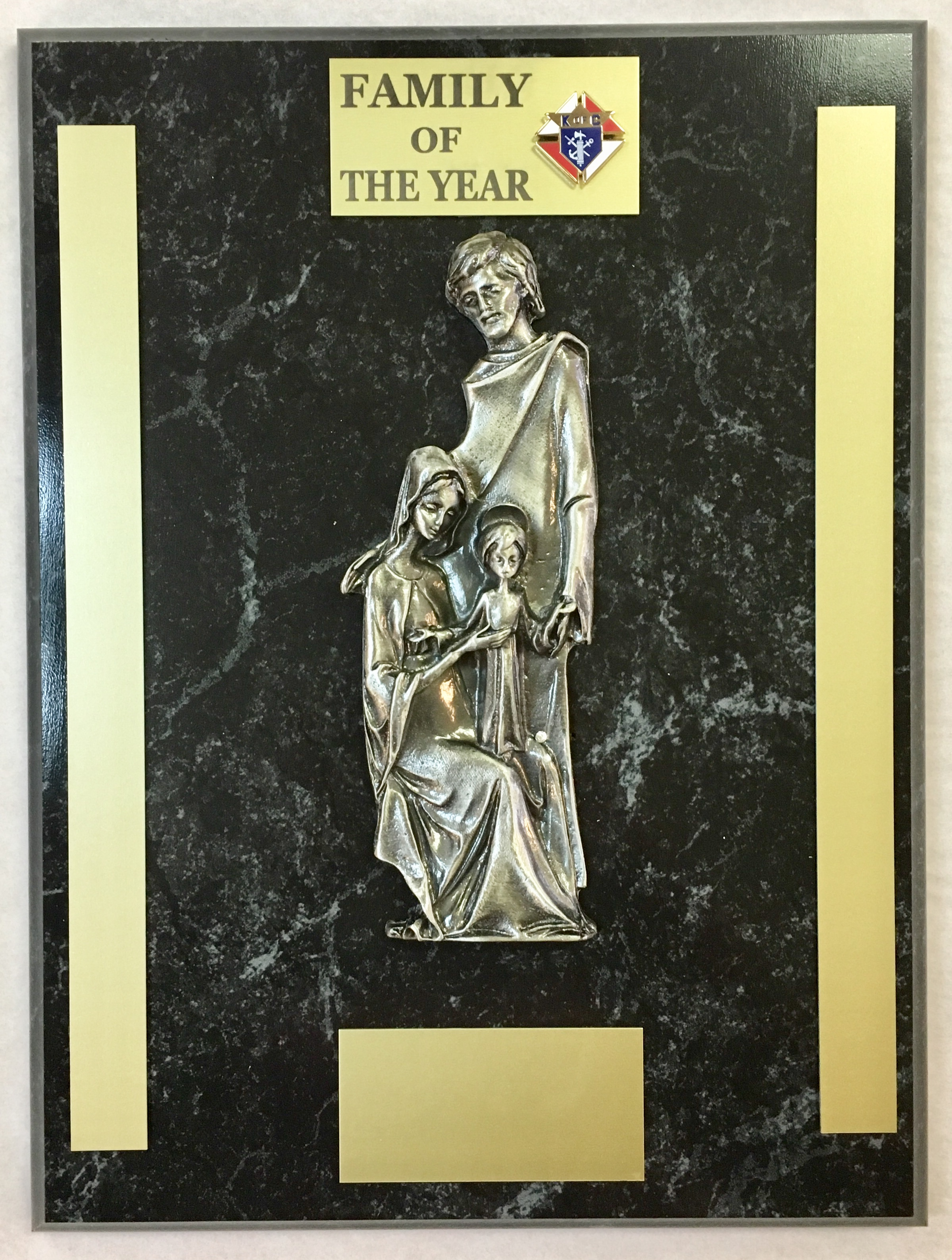 Family Of the Year Plaque