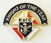 No. 900 - Knight Of The Year (1'')