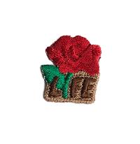 Respect Life Rose Appliqué (50 per order)