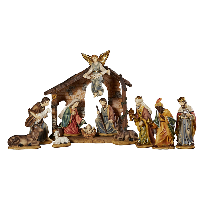 Twelve Piece Nativity Set