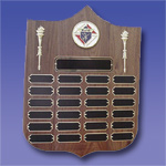 P-2363 (BK) - Perpetual Torch Plaque