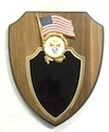 P-1B - U.S. Flag Plaque 4th Degree Emblem