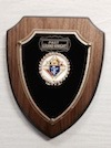 No. P-25 - P.G.K. or P.F.N. Shield Plaque