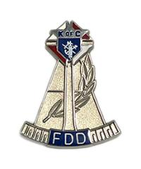 "Former District Deputy (3/4"")"