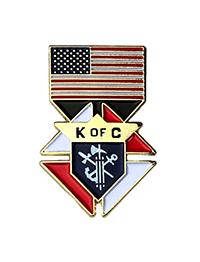 "USA Flag Emblem of the Order (1"")"