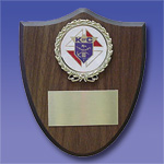 No. PS-15 - Small Shield Plaque