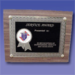 Service Award Plaque