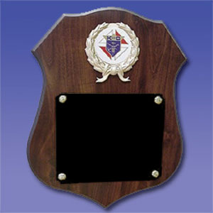 No. PS-97 - Large Shield Plaque