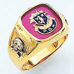 R364PGK - PAST GRAND KNIGHT RING- Open Back