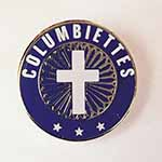 6423 - Columbiettes Membership Lapel Pin