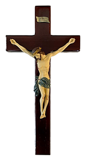 "Tomaso 13"" Crucifix Res Corpus"