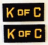 4O - Cape Collar Patches (Replacements)