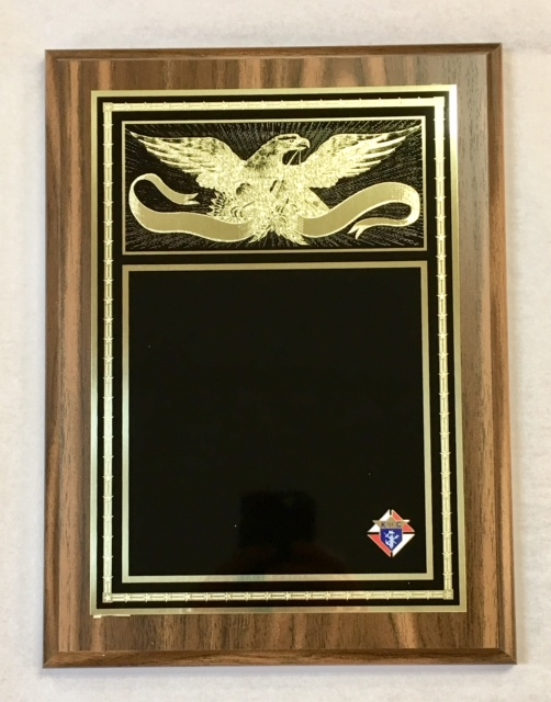 No. P150C - Golden Eagle Plaque